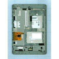 Модуль (матрица + тачскрин) Acer Iconia Tab A1-810, A1-811 черный с рамкой