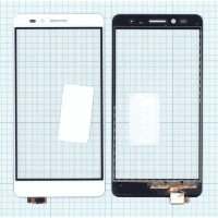 Сенсорное стекло (тачскрин) Huawei GR5 белое