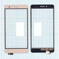 Сенсорное стекло (тачскрин) Huawei GR5 золотой