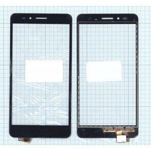 Сенсорное стекло (тачскрин) Huawei GR5 черный