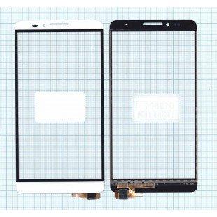 Сенсорное стекло (тачскрин) Huawei Ascend Mate 7 белый