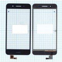 Сенсорное стекло (тачскрин) Huawei GR3 черный