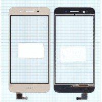 Сенсорное стекло (тачскрин) Huawei GR3 золотой