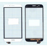 Сенсорное стекло (тачскрин) Huawei G7 Plus белый