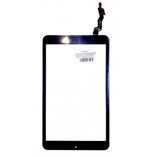 """Сенсорное стекло (тачскрин) 8"""" для Alcatel OneTouch Pixi 3 8 9005X (80701-0E5502A) черное"""