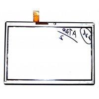 Сенсорное стекло (тачскрин) Digma Plane 1601, Optima 1104S, Optima 1105S (MF-872-101F) черное [T0145-1]