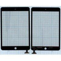 Сенсорное стекло (тачскрин) Ipad mini черное