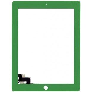 Сенсорное стекло (тачскрин) iPad 2 зеленое