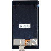Модуль (матрица + тачскрин) Google Asus Nexus 7 2nd (2013) ME571 черный, без рамки [T0810]