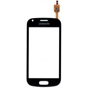 Сенсорное стекло (тачскрин) Samsung Galaxy S Duos S7562 / Galaxy Ace S7560m черное