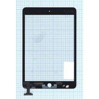 Сенсорное стекло (тачскрин) Ipad mini 2 (retina) черное