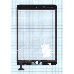 Сенсорное стекло (тачскрин) Ipad mini 2 (retina) original черное