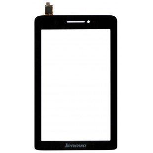 Сенсорное стекло (тачскрин) Lenovo IdeaTab S5000 черное