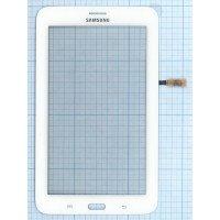 Сенсорное стекло (тачскрин) Samsung Galaxy Tab 3 7.0 Lite SM-T111 белое [T0010]