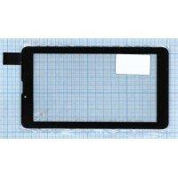Сенсорное стекло (тачскрин) HS1283A V0 0212 черное