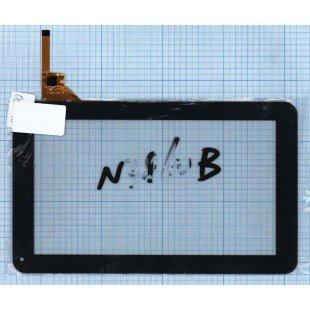 Сенсорное стекло (тачскрин) FPC-TP090001(M906)-00 черный