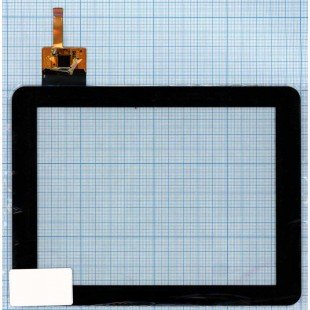 Сенсорное стекло (тачскрин) DPT 300-N3708A-B00_VER1.0 черное