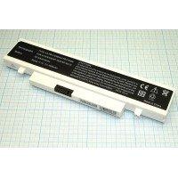 Аккумуляторная батарея для ноутбукa Samsung N210, N220, NB30, NP-N210 (11.1 В 4400 - 5200 мАч), белая