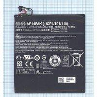 Аккумуляторная батарея AP14F8K для Acer Iconia One B1-850, Tab W1-810, 4550mAh 3.8V