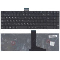 Клавиатура для ноутбука Toshiba Satellite C50D C50-A C50D-A C55D (RU) черная [10183]