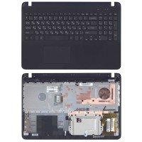 Клавиатура для ноутбука Sony FIT 15 SVF15 черная топ-панель [10215]