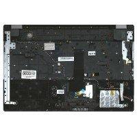 Клавиатура (топ-панель) для ноутбука Samsung RC530  (RU) черная [10045]