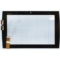 Сенсорное стекло (тачскрин) для планшета Asus Eee Pad Slider SL101  черный