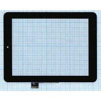 Сенсорное стекло (тачскрин) для планшета Prestigio MultiPad 2 Prime Duo PMP5780D черный [T00108]