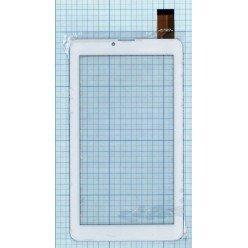 Сенсорное стекло (тачскрин) для планшета Digma HT7070MG, EXPLAY SURFER 7.34 3G, OYSTERS T72 3G белый [T00102]