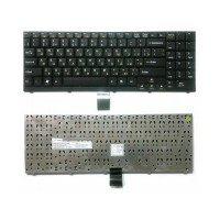 Клавиатура для ноутбука DNS 0119110, 0120941, 0123250, 0126562 (RU) черная [10120]