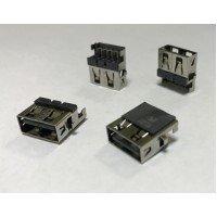 Разъем USB 2.0 для ноутбука HP G4 G6 G7 G42 G62; Lenovo E46; Samsung NP300E5C [U005]