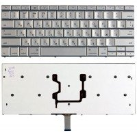 Клавиатура для ноутбука Apple Macbook 15.4 965 (RU) серебристая A1260