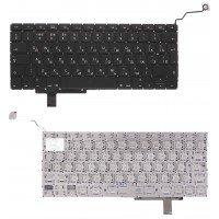 Клавиатура для ноутбука Apple Macbook A1297 (RU) черная, большой Enter
