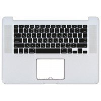 Клавиатура для ноутбука Apple MacBook Pro A1398 топ-панель (RU)