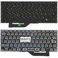 Клавиатура для ноутбука Apple MacBook Pro A1398 большой Enter original (RU) черная