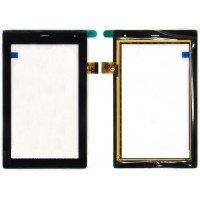 Сенсорное стекло (тачскрин) Мегафон Логин 3 (МТ4А), TPC1463 ver. 5.0, черное [T00111]