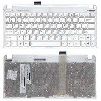 Клавиатура (топ-панель) для ноутбука Asus Eee 1015 x101 RU белая, топ-панель [10130]