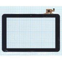 Сенсорное стекло (тачскрин) Digma IDSQ11, Ritmix RMD-1027 черное [T00805]