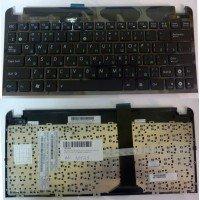 Клавиатура (топ-панель) для ноутбука Asus Eee 1015 x101 RU черная, топ-панель [10135]