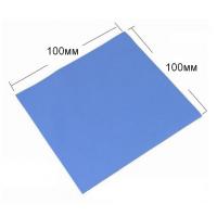 Термопрокладка силикон 100x100x1мм, 1.2-3.2Вт/(м*К) [EE1001B-X]
