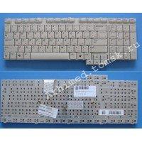 *SALE* Клавиатура для ноутбука Samsung M70 (RU) серебристая [10023]
