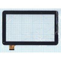 Сенсорное стекло (тачскрин) Oysters T12V 3g, Digma ids10 (YCF0464-A) черное [T00115]