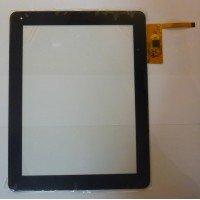 Сенсорное стекло (тачскрин) для планшета DNS AirTab M973w черное (T00121)