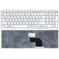 Клавиатура для ноутбука Sony Vaio SVE17 (RU) белая [10166]