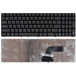 Клавиатура для ноутбука Asus A52, A54, G51, G53, G60, G72, G73, K52, K55, K72, K73, N50, N53, N61, N71, N73, N90, P53, U50, X52, X54, X61, X66, W90 (RU) черная [00508]