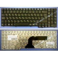 Клавиатура для ноутбука Asus A7, G50, G70, M50, M70, X55, X57, X70, X71 (RU) черная [00105]