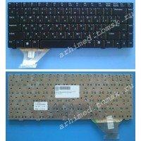 Клавиатура для ноутбука Asus A8, W3, W3000, F8, X80L, Z63, Z99 (RU) черная, матовая [00076]