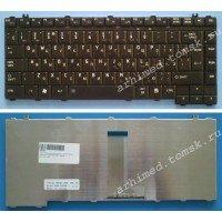 Клавиатура для ноутбука Toshiba Satellite A200, A300, A400, M200, M300, L200, L300  (RU) черная [00364]