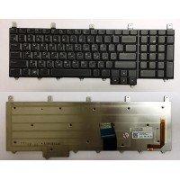 Клавиатура для ноутбука Dell Alienware M17X (RU) черная с подсветкой [10194]