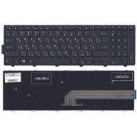 Клавиатура для ноутбука Dell Inspiron 15-5000 5547 5521 5542 (RU) черная с рамкой [10204]